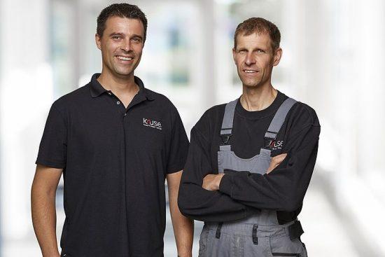 Roland und Michael Kruse – Kaufmann und Tischlermeister
